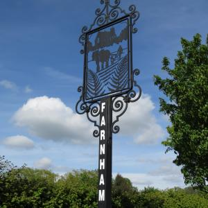Village Sign Farnham